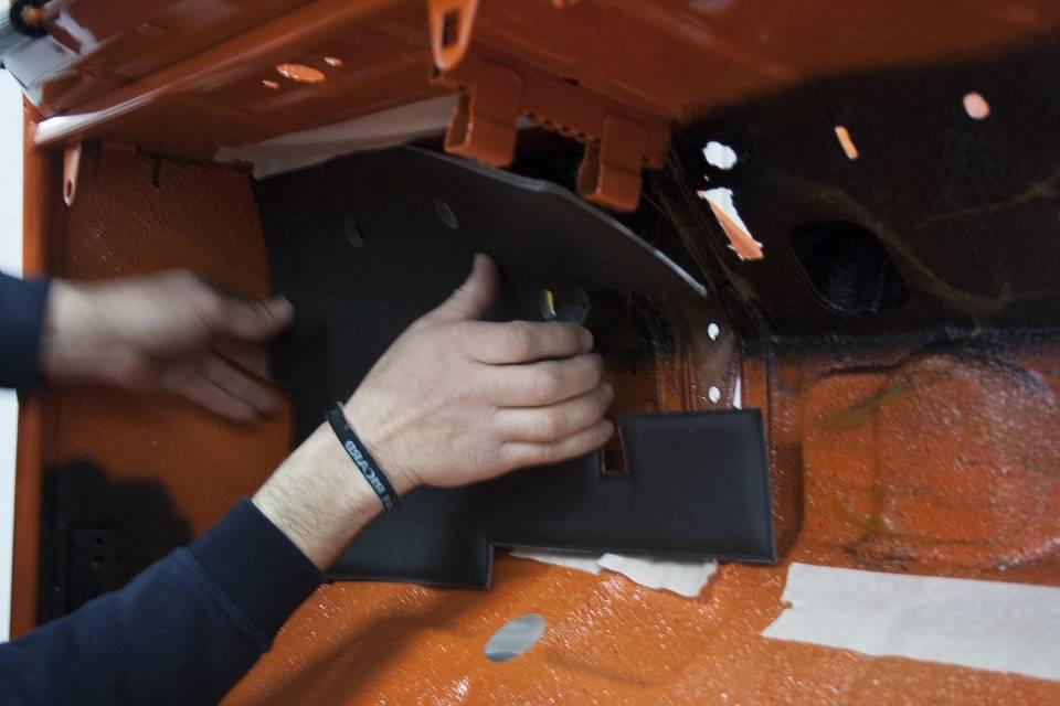 Habillage tablier interieur 2cv technique mcc for Interieur 2cv