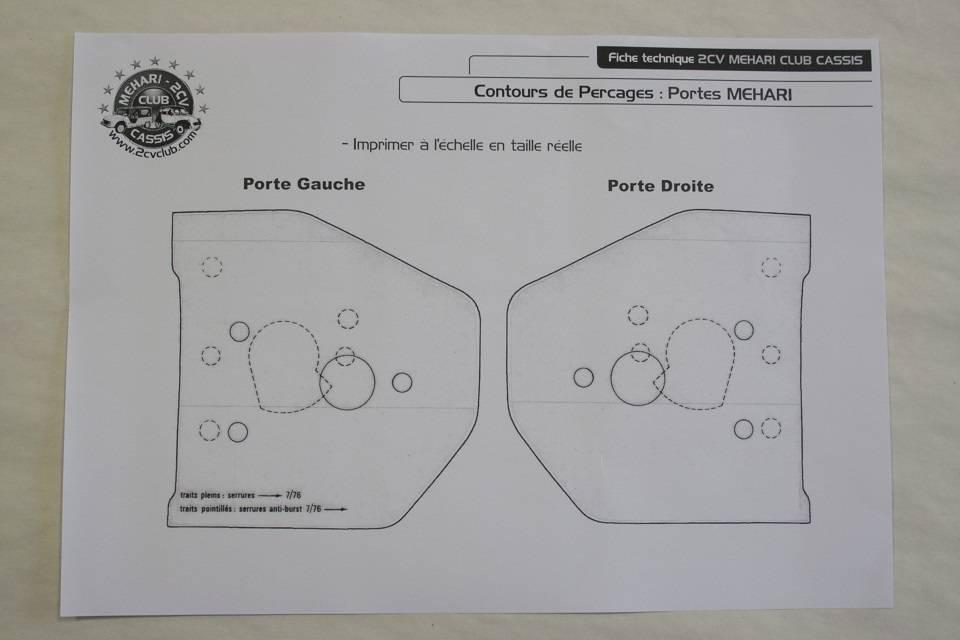 Gabarit pour des serrures sur des portes de m hari for Les portes logiques pdf