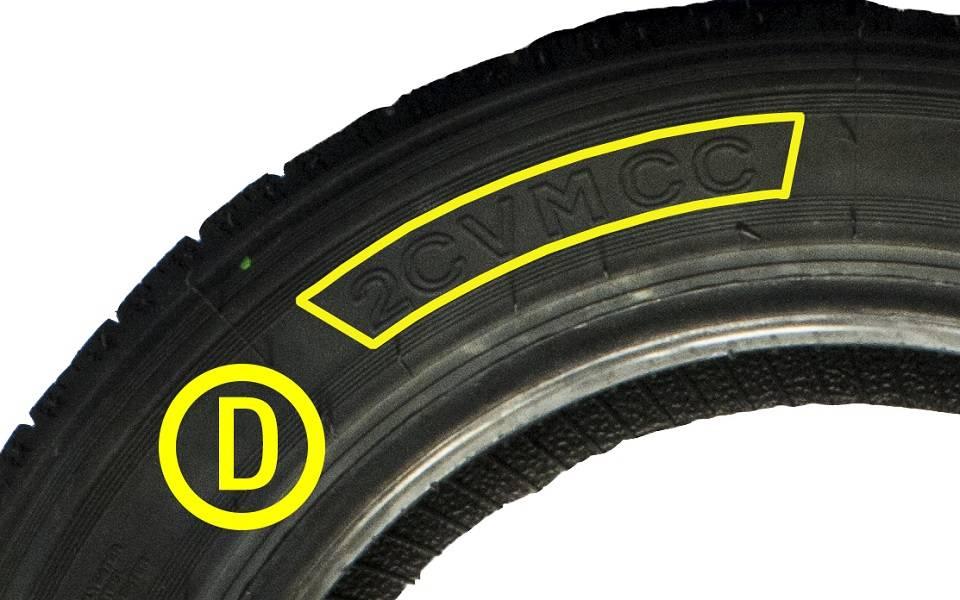 lecture des informations d u0026 39 un pneu 2cv mcc