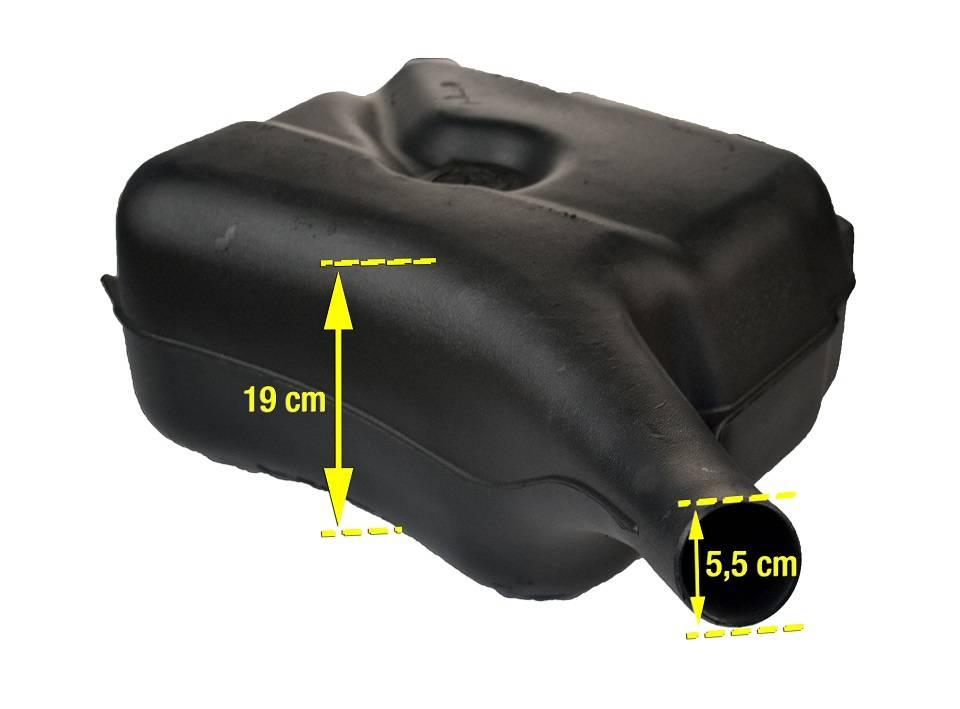dimensions du r servoir plastique origine technique mcc. Black Bedroom Furniture Sets. Home Design Ideas