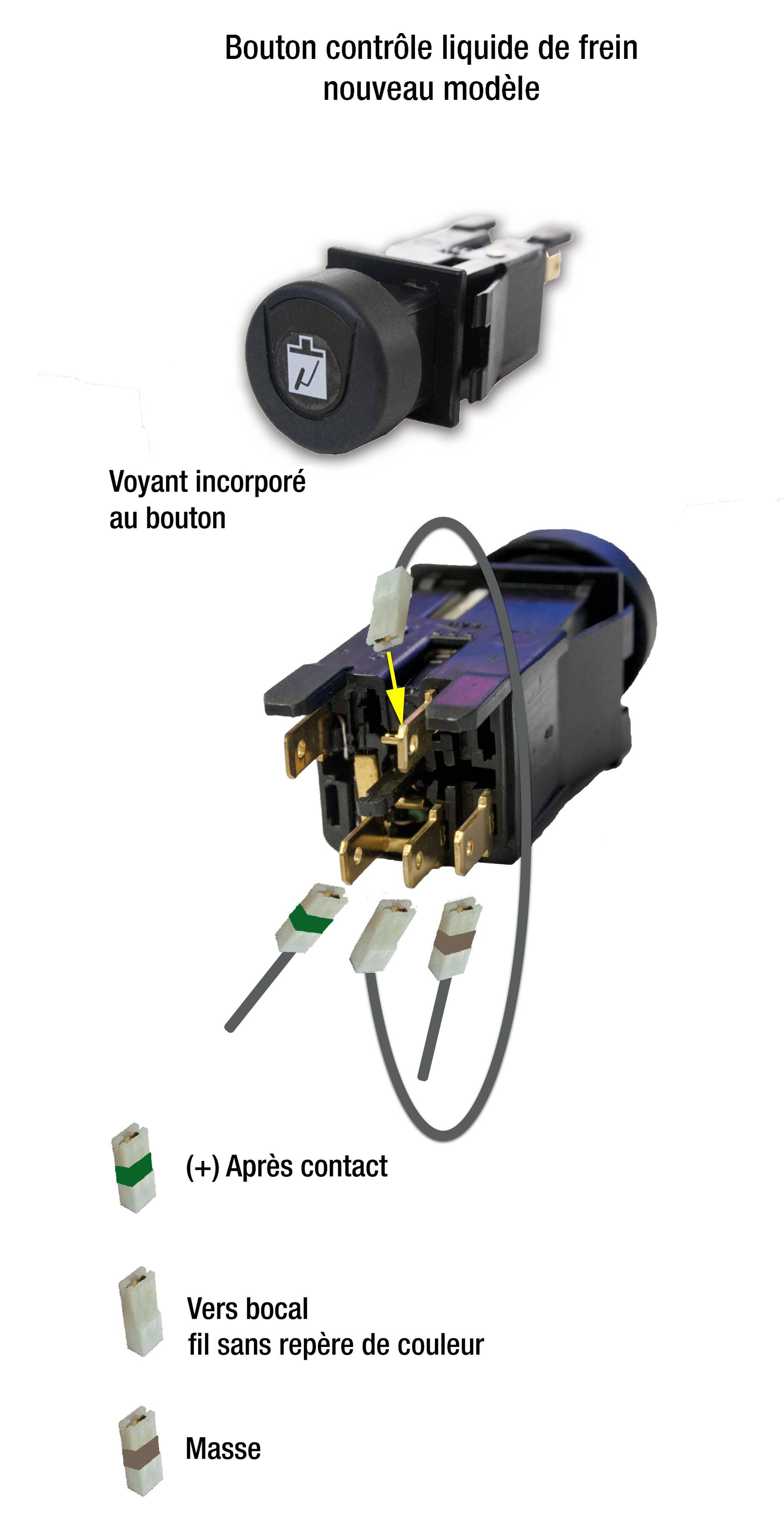 branchement du faisceau lectrique avant de m hari nouveau mod le technique mcc. Black Bedroom Furniture Sets. Home Design Ideas