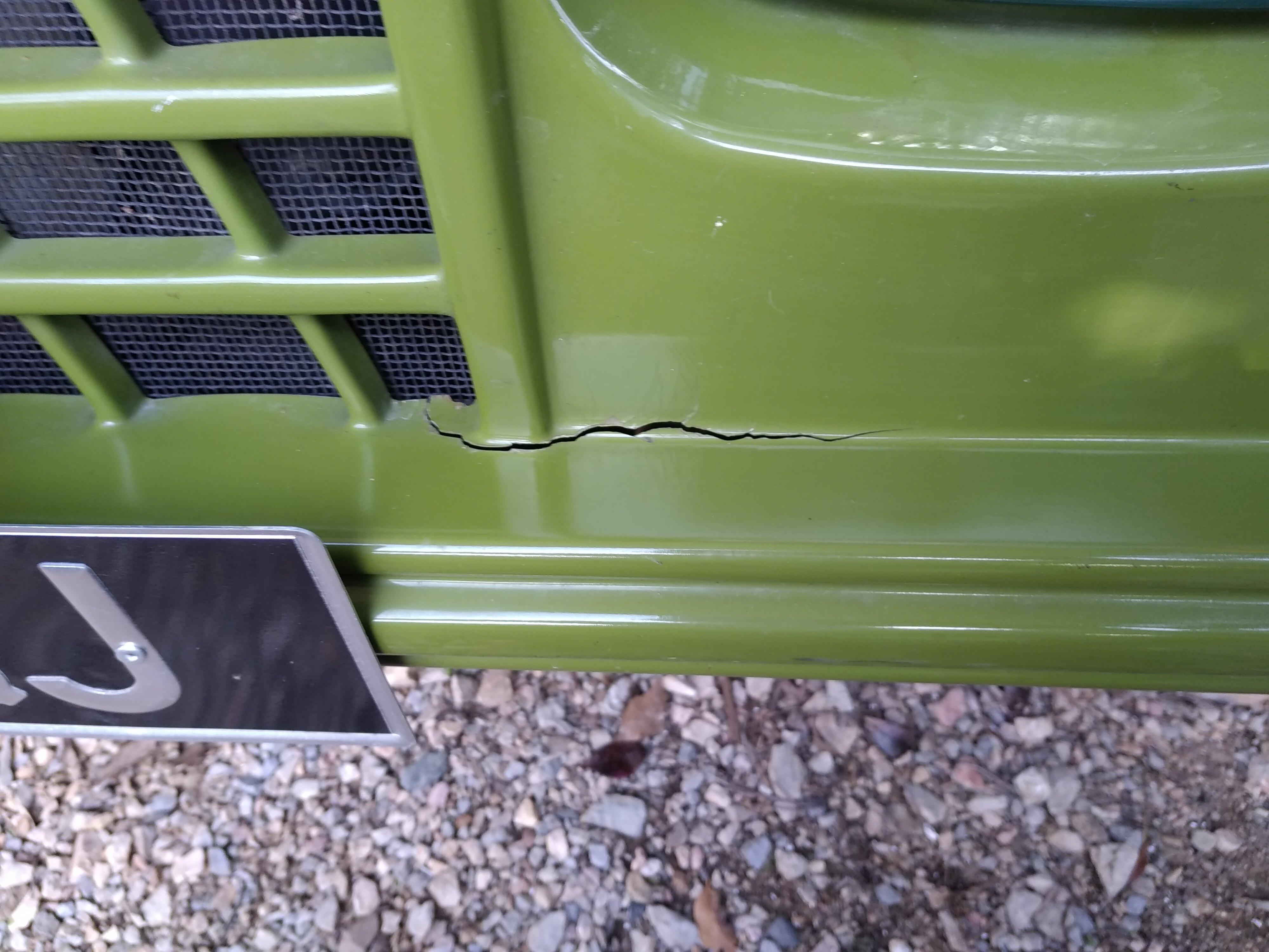 A réparer!